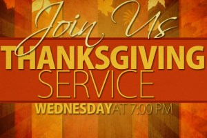 Thanksgiving-Service