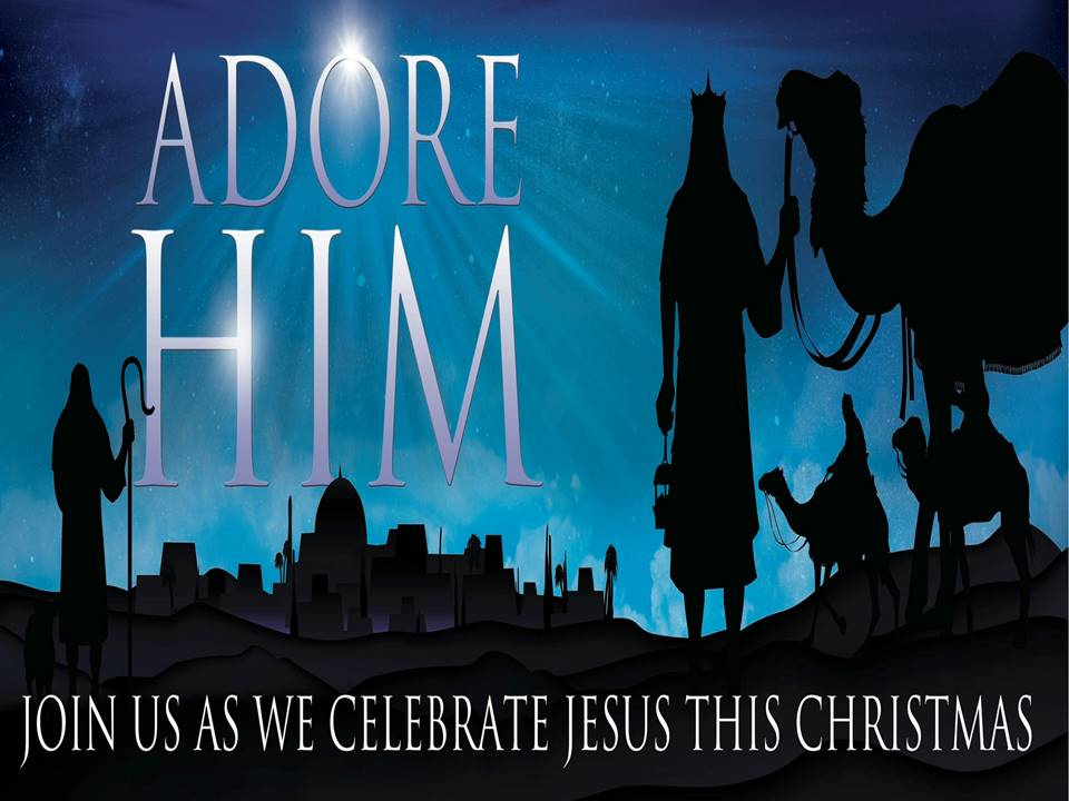 Christmas Card with Service Times Available | The Church of the Messiah