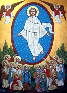 Coptic Ascension Icon