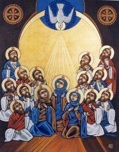 Coptic Pentecost Icon