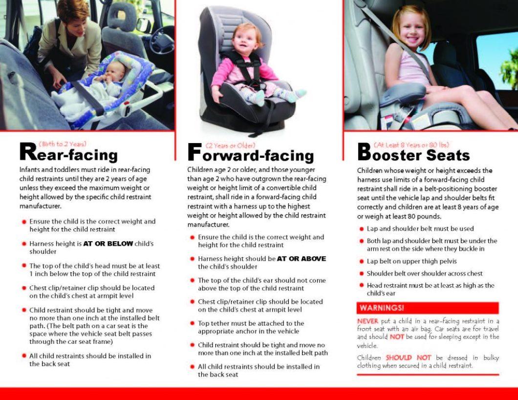 Car Seat Laws Nj Regulations