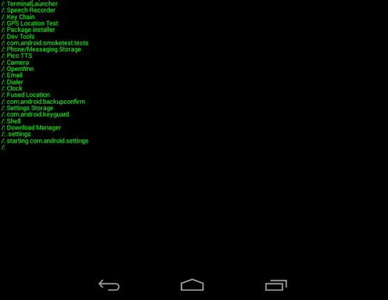 download terminal for android