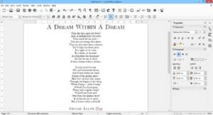 Libreoffice Writer Word Processor for Windows, Linux, Raspberry Pi,Mac