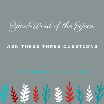 Ask these three questions to decide on your word of the year 2021