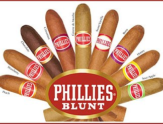 Philles Blunt Cigars – 1 Pack of 5 Philles Blunt cigars