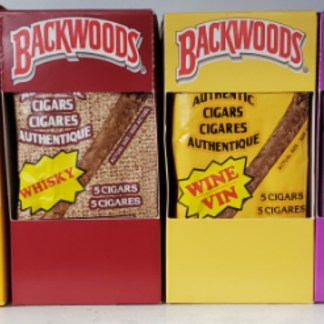 Backwoods 5 Cigars Authentic Cigars