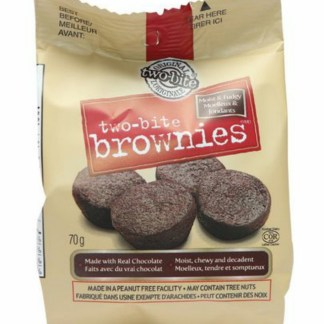 The Worthy Crumb Pastry Co two-bite Brownies Snack Pack
