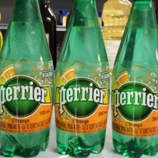 ( S ) Perrier Carbonated Water