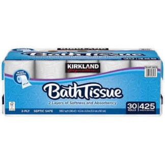 Kirkland Bath Tissue 6 Rolls Of Double