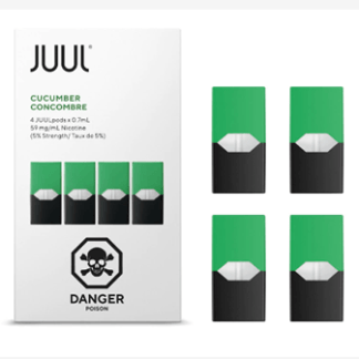 JUUL CUCUMBER 4 Pods – Pack of 4