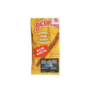 Backwoods Cigars Rum – Pack 5 Backwoods Rum Cigars
