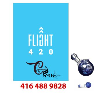 Flight 420 KOMET Hand Water Pipe