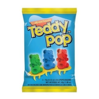 Teddy Pop Lollipop