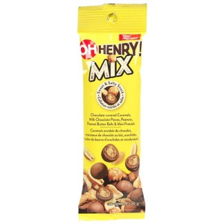 Oh Henry Mix Sweet Ad Salty Snack 56g