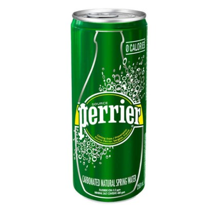 Perrier Carbonated Natural Spring Water 250ml