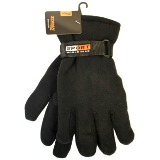 Zoran Fleece Gloves With Strap