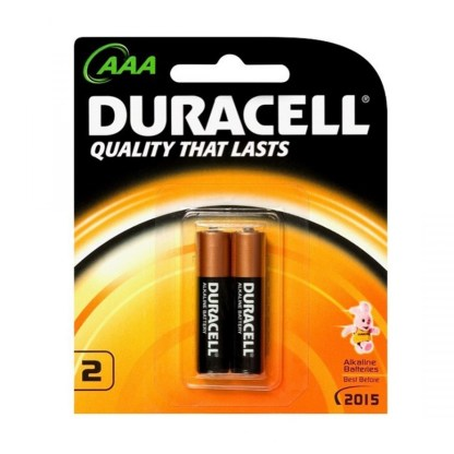Duracell AAA Battery 2 Pack