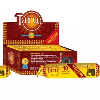 TARU SHISHA CHARCOAL 40 MM, ROLL/10