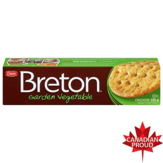 Breton Garden Vegetable Crackers 225g