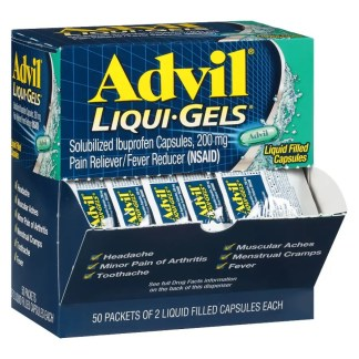 Advil Liquid Filled Capsules