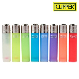 Clipper Refillable Lighters Translucent