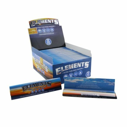 Elements Ultimate Thin Rice Rolling Papers King Size