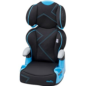 Evenflo AMP High Back Car Seat Booster Review