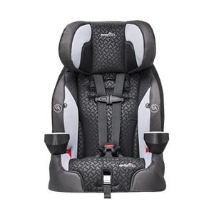 Evenflo Securekid DLX Booster Car Seat, Grayson Review