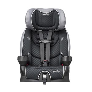 Evenflo Securekid Lx Booster Car Seat, Raven Review