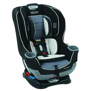 Graco Extend2Fit Convertible Car Seat, Gotham Review