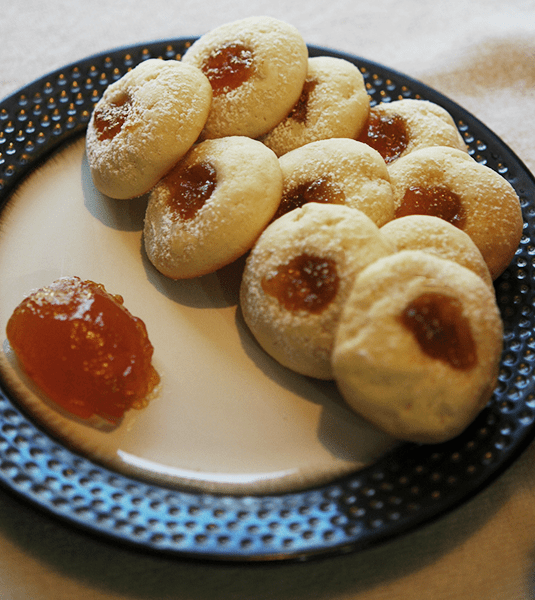 Apricot Cream Cheese Cookies