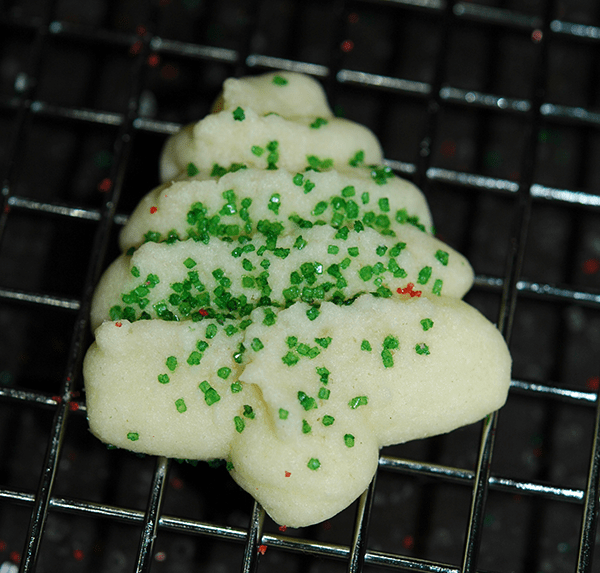 Tender Cream Cheese Spritz Cookies
