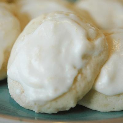 Perfect Glazed Lemon Cookies