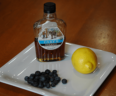 Flavors that go with Blueberries