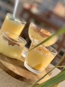 Crema de limon y piña