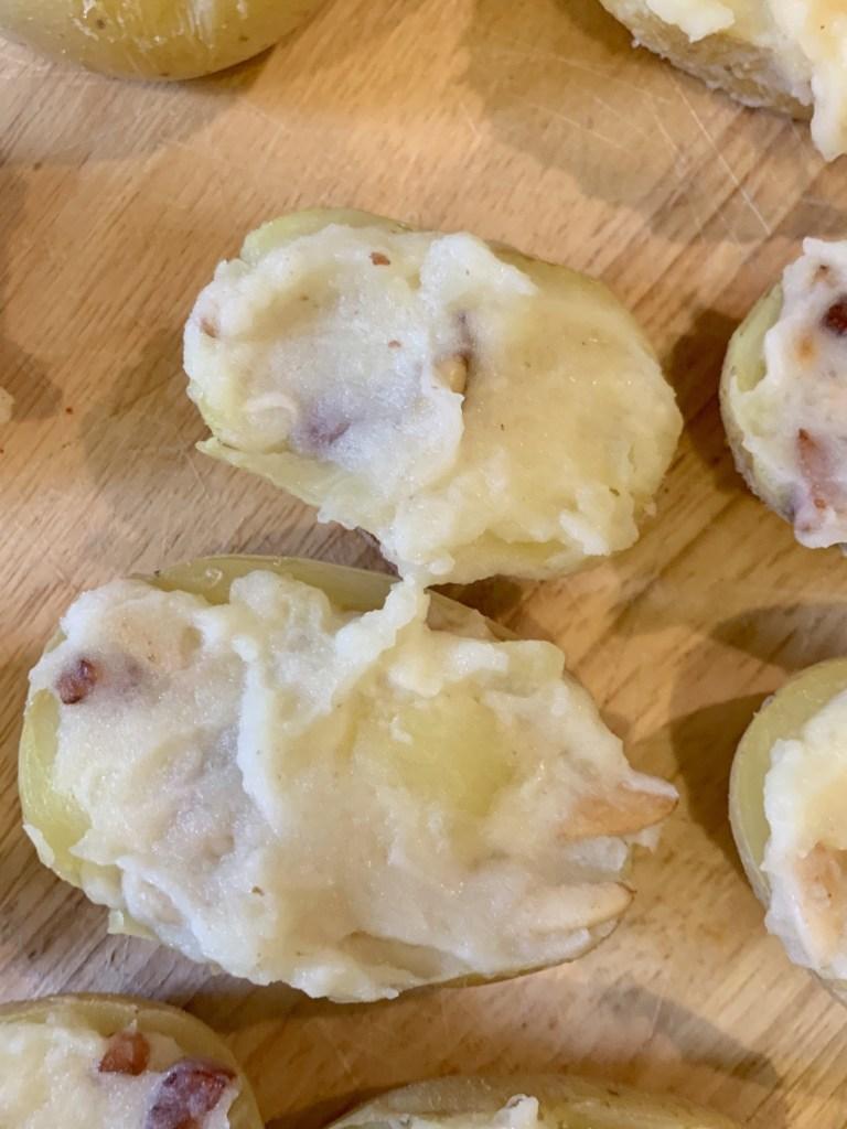 Patatas gratinadas con baicon