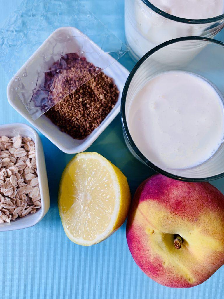 Ingredientes vasitos de yogurt