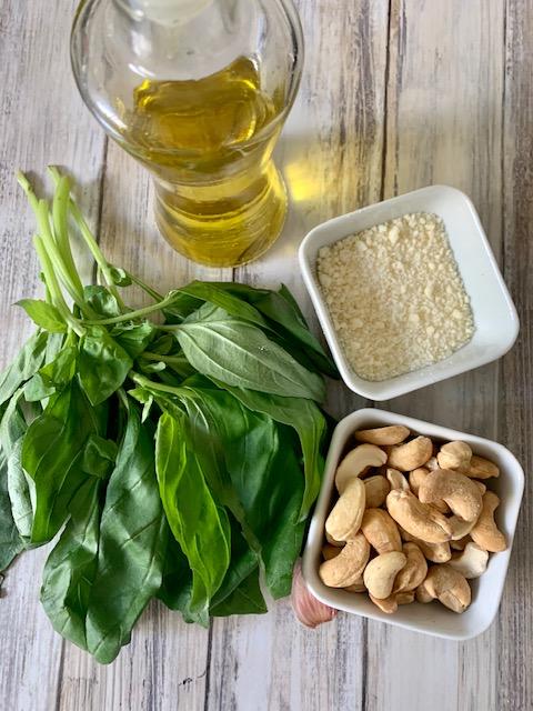 Ingredientes Pesto