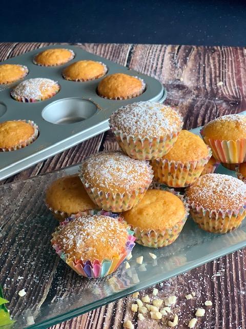 Muffins con almendras