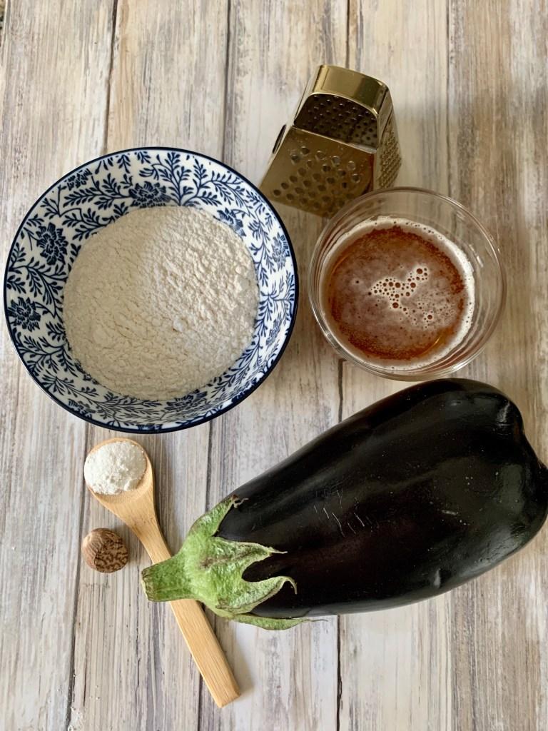 Ingredientes Berenjenas rebozadas