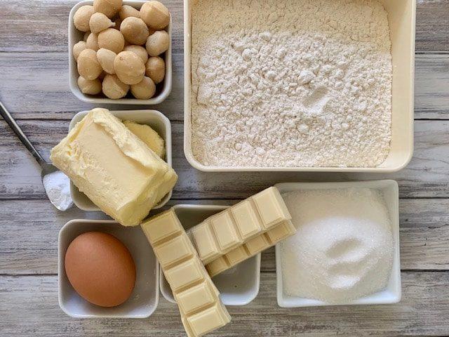 Ingredientes Galletas