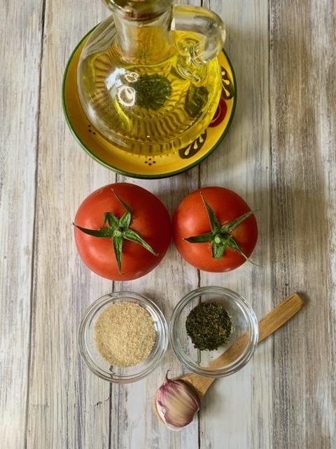 Ingredientes Tomates a la provenza