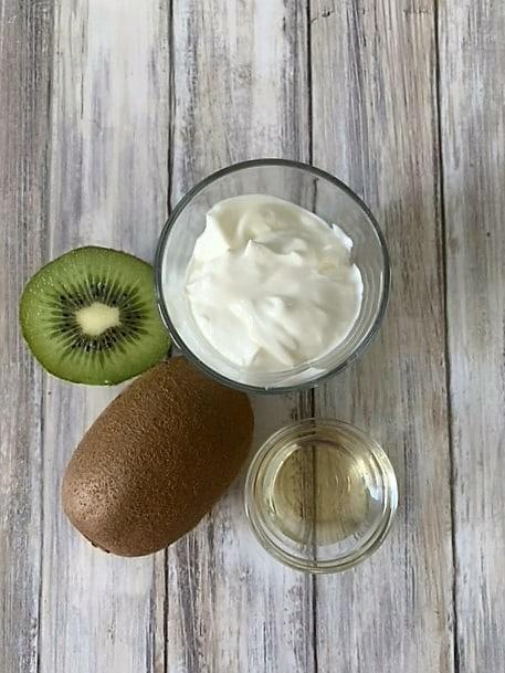 Ingredientes Baido de Kiwi