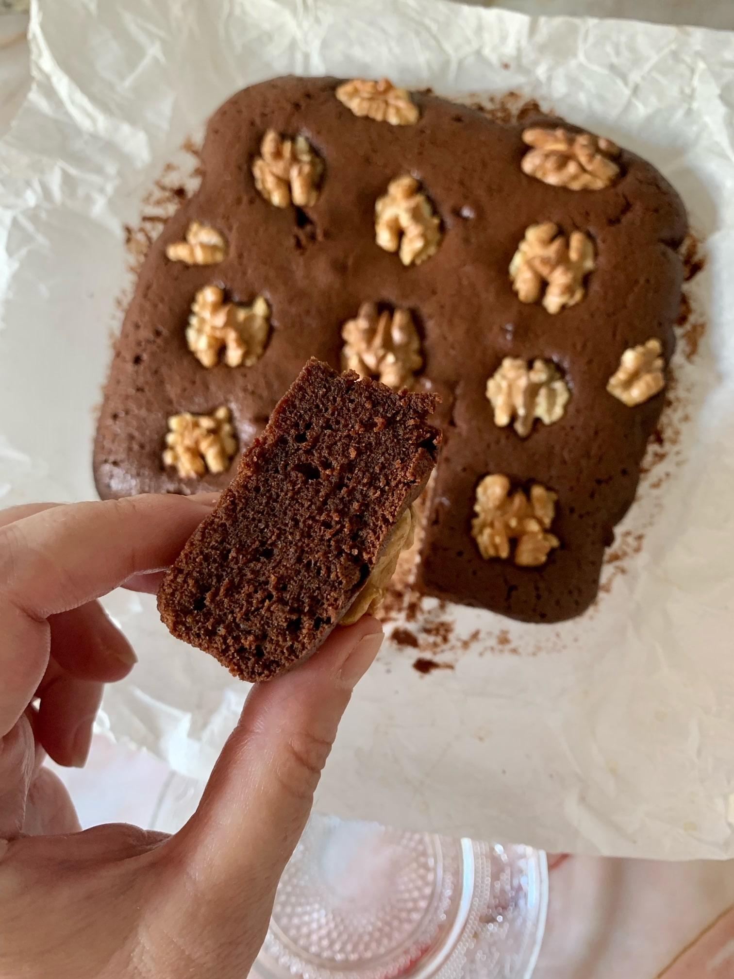 Brownie de Chocolate con nueces