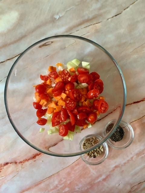 Añadimos los Tomates Cherry