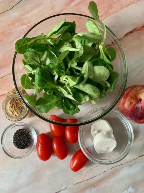 ingredientes Ensalada de Canonigos