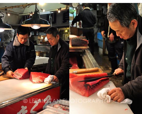 slicing-tuna
