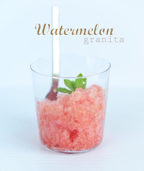 watermelon-granita