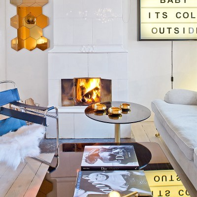 Real Lesson For Stylish And Smart Arrangement In 46 m2 Apartment