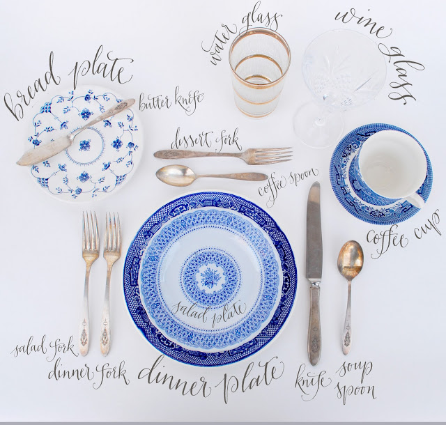 The Right Way to Set a Festive Table